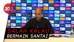 Guardiola Wajibkan City Main Agresif Lawan Liverpool