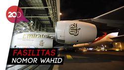 Intip Penggawa Madrid Cicipi First Class Emirates Airbus A380