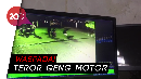 Terekam CCTV, Aksi Geng Motor Sadis Bacok Warga Depok