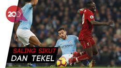 Permainan Keras di Laga City Vs Liverpool
