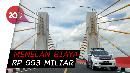 Akhirnya Jembatan Musi IV Palembang Mulai Diuji Coba