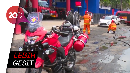 Perkenalkan! Si Merah Motor Pemadam Kebakaran di Surabaya