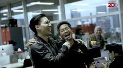 Kenalkan Vokalis Baru, Drive Seru-seruan di Markas Detikcom