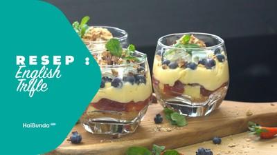 Resep English Trifle