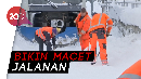 Salju Kepung Jerman, Mobil dan Kereta Sulit Jalan