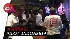 Perhimpunan Pilot Kompak Dukung Jokowi Maruf