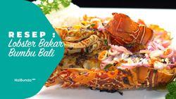 Resep Lobster Bakar Bumbu Bali + Sambal Matah