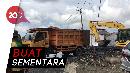 Lahan Warga Jadi Lokasi Pembuangan Sampah Kali Pisang Batu