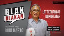 Tonton Blak-blakan Dirut Adhi Karya: LRT Terhambat Dukuh Atas