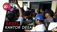 Demo Dana Desa, Ratusan Warga Brebes Ricuh dengan Polisi
