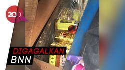 Napi di Lapas Tanjung Gusta Kendalikan Penyelundupan Narkoba