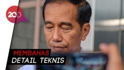 Persiapan Debat Perdana, Jokowi-Ma'ruf Bahas Posisi Duduk