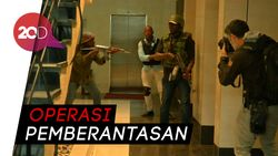 Polisi Diterjunkan ke Lokasi Serangan Teror