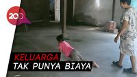Sedih Lihat Bocah 7 Tahun Ini, Sehari-hari Ngesot karena Lumpuh
