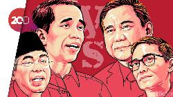Tumpang Tindih Aturan, Prabowo-Sandi & Jokowi-Maruf Adu Lihai