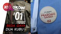 Jaket Bomber Jokowi Vs Kemeja Biru Prabowo