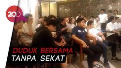 Pendukung Jokowi-Prabowo Akur Saat Nobar Debat