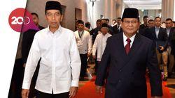 Prabowo Singgung Impor Beras, Jokowi Santai