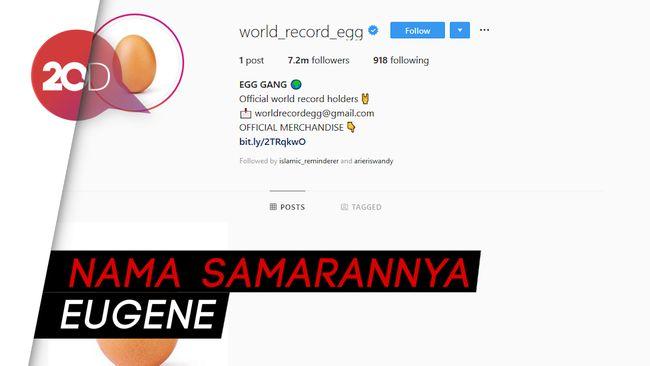Siapa Sih Pemilik Akun Instagram Telur yang Viral Itu?