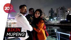Intip Keseruan Raffi Ahmad dan Nagita Dinner di Kapal Jepang