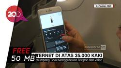 Kata Penumpang Citilink Usai Menjajal WiFi Onboard di Atas 35.000 Kaki