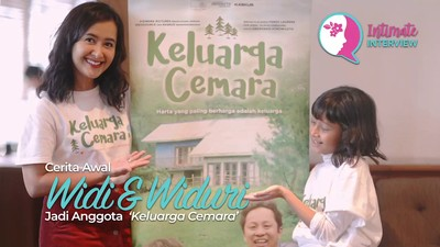 Cerita Awal Widi & Widuri Jadi Anggota 'Keluarga Cemara'