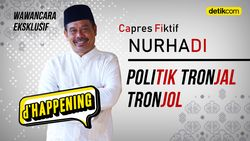 dHappening Capres Fiktif Nurhadi, Politik Tronjal Tronjol