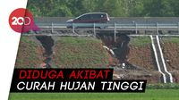 Fondasi Longsor, Tol Pemalang-Batang KM 321 Retak