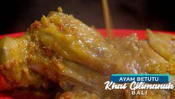 Ayam Betutu Diguyur Kuah Panas Super Pedas khas Gilimanuk, Bali