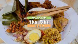 Nikmatnya Sarapan pagi di Warung Nasi Ayam Ibu Oki, Bali