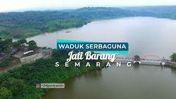 Keindahan Alam di Waduk Jatibarang, Semarang