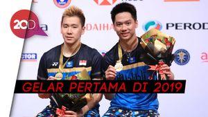 Selamat! Kevin/Marcus Juara Malaysia Masters 2019