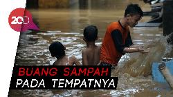 Antisipasi Banjir, Anies Imbau Warga Jaga Kebersihan