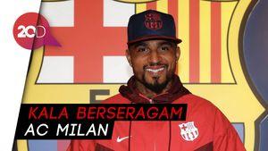 Mengingat Lagi saat Boateng Menjebol Gawang Barcelona