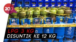 Polisi Ciduk Agen Gas Oplosan di Jakarta dan Tangerang