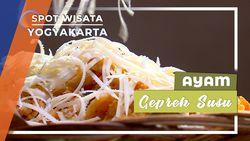 Lezatnya Ayam Geprek Susu, Yogyakarta