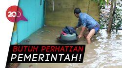 Banjir Kepung Ratusan Rumah di Makassar
