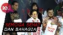 Jokowi: Selamat Ulang Tahun Bu Mega yang ke 71+1