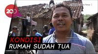 Tolong! Atap Rumah Nenek Jasemi Runtuh Diterjang Hujan