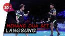 Menang Mudah, Owi/Butet Lanjut ke Semifinal