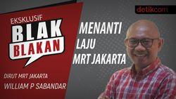 Blak-blakan Dirut MRT: Menanti Laju MRT Jakarta