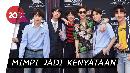 BTS Bakal Bacakan Nominasi di Grammy Awards 2019