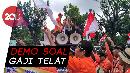 Pak Pos Gelar Demo, Teriakan 'Ganti Direksi' Menggema
