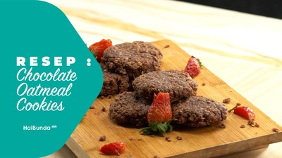 Resep Chocolate Oatmeal Cookies