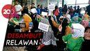 Sebelum Nobar ke Bogor, Sandi Temui Pendukung di Posko Pemenangan