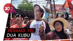Ke Surabaya, Prabowo Disambut Teriakan Jokowi Wae