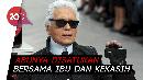 Tak Mau Dimakamkan, Karl Lagerfeld Minta Dikremasi Saja
