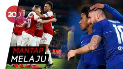 Duo London, Chelsea-Arsenal Kompak Tembus 16 Besar Liga Europa
