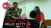 Momen Kebahagiaan Putri Denada Saat Dikunjungi Jokowi-Iriana