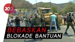 Oposisi Bentrok dengan Tentara Venezuela di Perbatasan